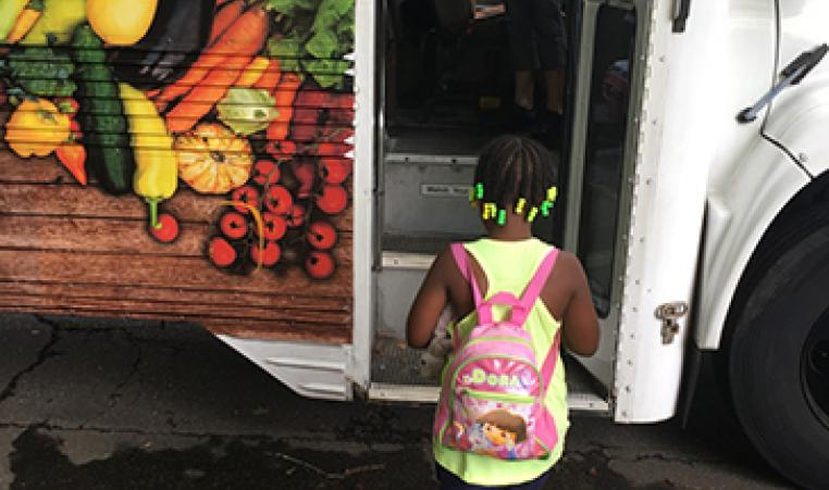 YMCA of WNC Healthy Living Mobile Kitchen
